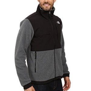 The North Face Black / Gray Denali Jacket Men's XL